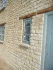 C.  Close up of Cotswold stone extension